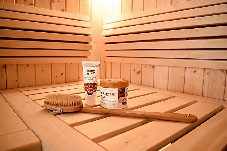 Weka Pflegeset »Wellness-Pflege-Set« in natur