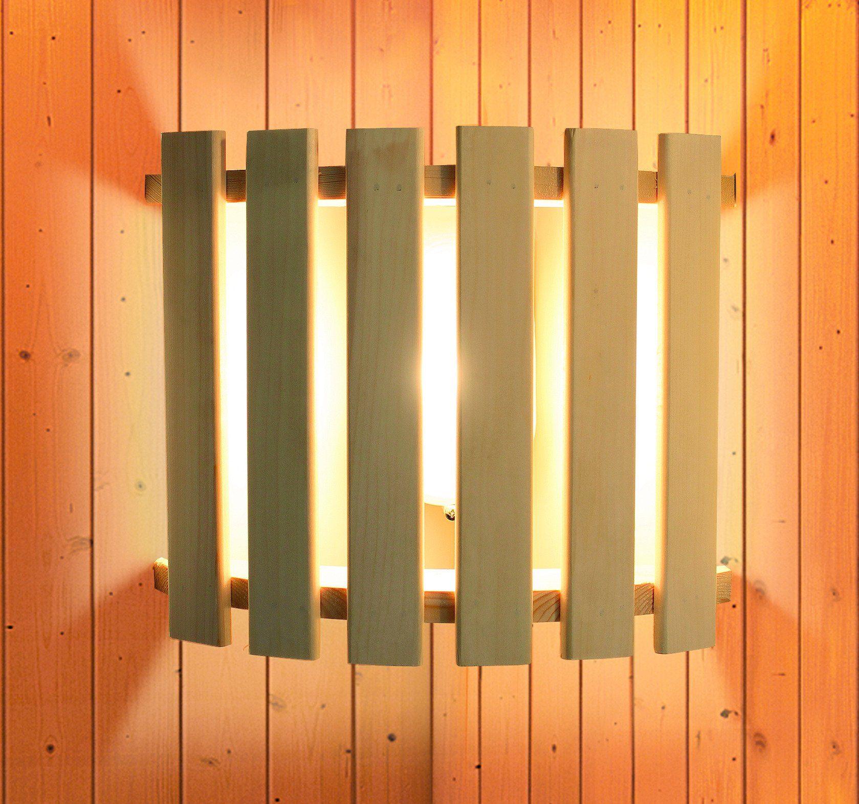 KARIBU Saunaleuchte »Modern«, zur Eckmontage