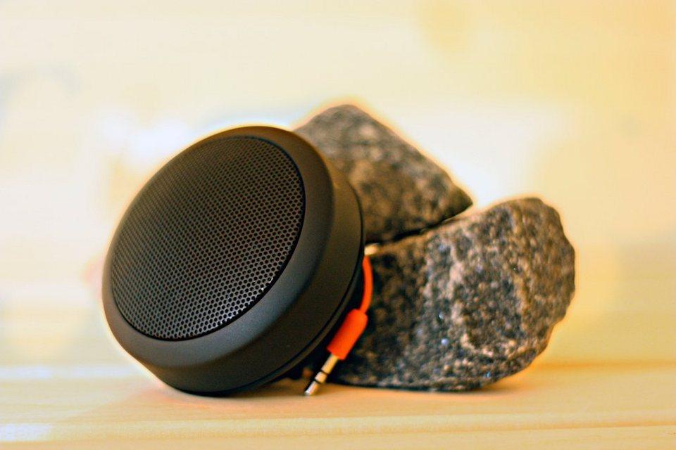 Lautsprecher in schwarz