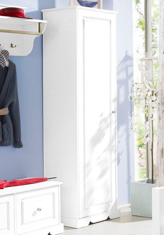 Home affaire Garderobenschrank »Marika« in weiß