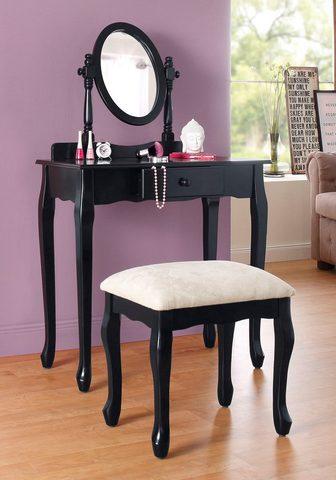 HOME AFFAIRE Kosmetinis staliukas (Set)