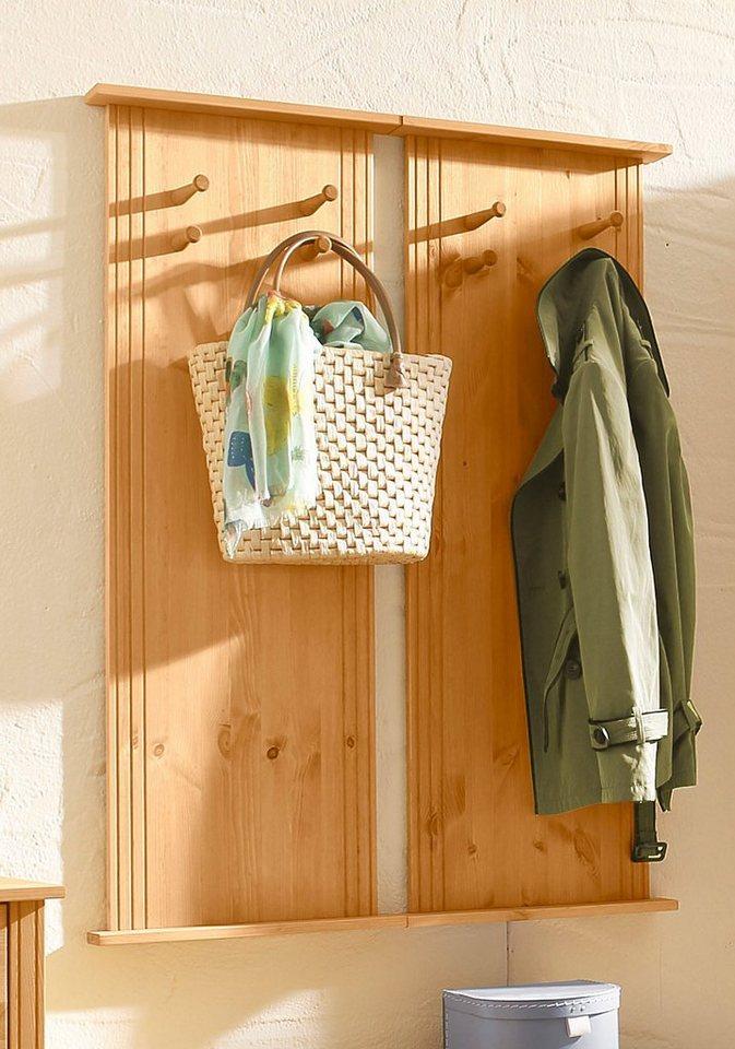 Home affaire Garderobe »Jana« (2er-Set) in gelaugt/geölt