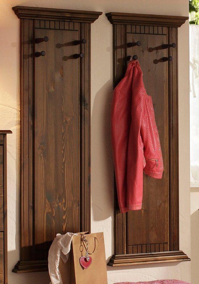 Home affaire garderobe rustic 2 stck kaufen otto for Otto garderobe