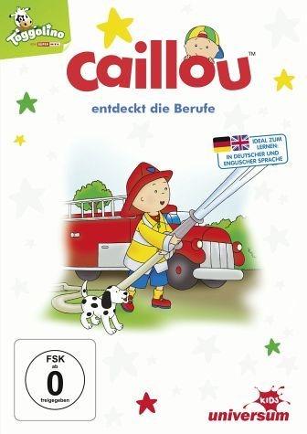 DVD »Caillou 35 - Geburtstag entdeckt die Berufe«