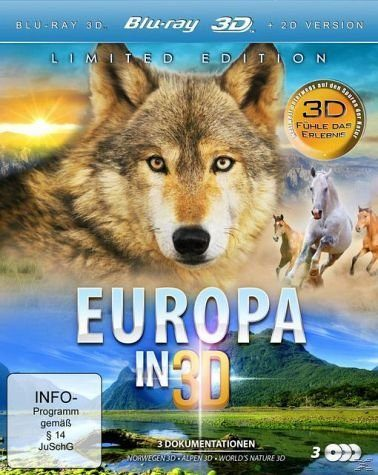 Blu-ray »Europa in 3D Bluray Box«