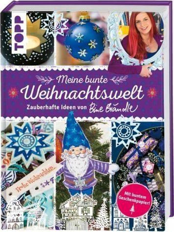 Gebundenes Buch »Meine bunte Weihnachtswelt«
