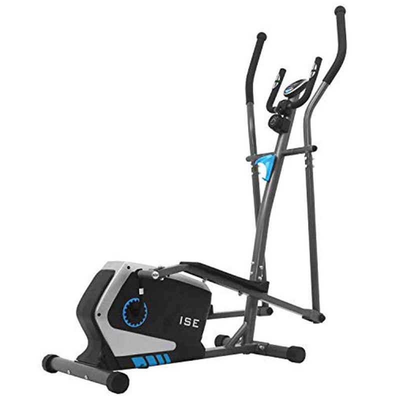 ISE Crosstrainer »ISE Crosstrainer Ellipsentrainer für Zuhause Speedbike Elliptisch Heimtrainer mit Schwungmasse,8 Widerstandsstufen, Max. 120KG, SY-9801«