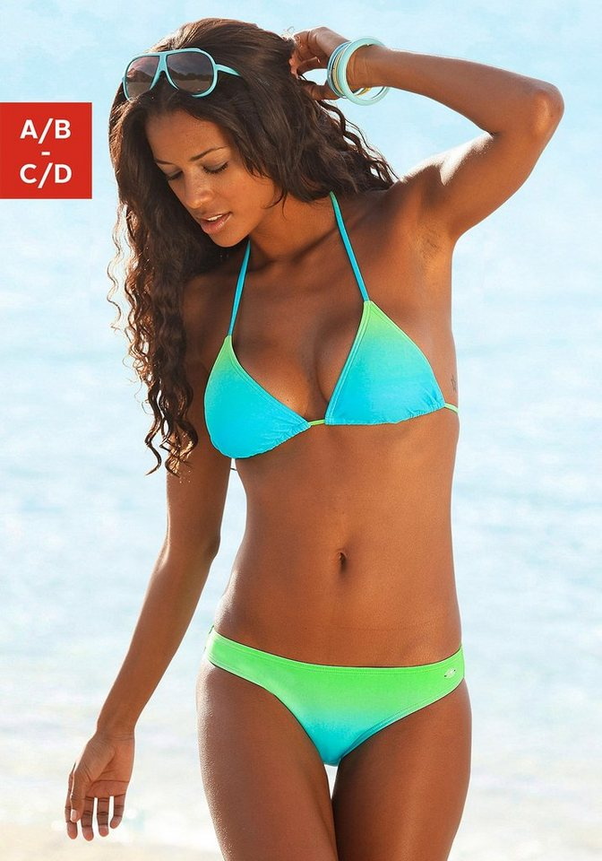 Triangel-Bikini, KangaROOS® in türkis-grün