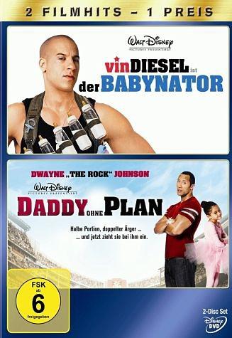 DVD »Daddy ohne Plan / Der Babynator (2 Discs)«