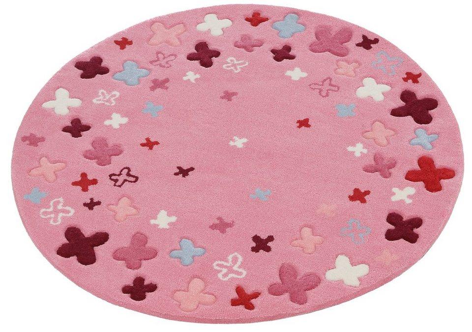Kinderteppich »Bloom Field«, ESPRIT, rund, Höhe 10 mm online ...