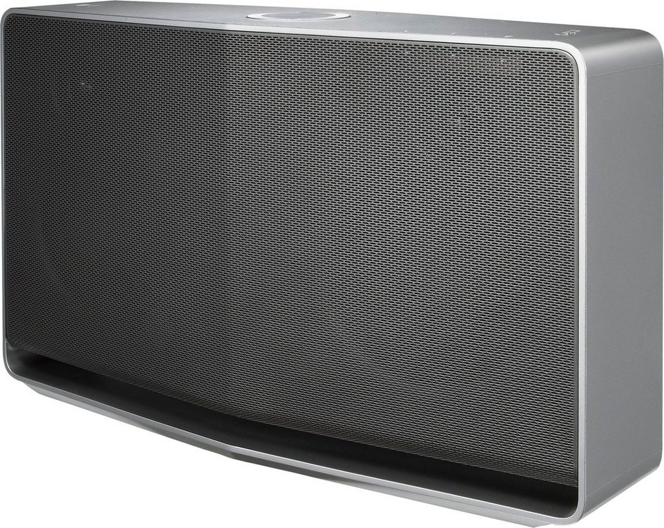 LG Music Flow NA9540 (H5) Bluetooth-Lautsprecher, Bluetooth,NFC, Multiroom in silberfarben