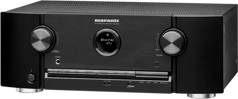 Marantz SR5010 7.2 AV-Receiver (3D, Spotify, Airplay, WLAN, Bluetooth) in schwarz