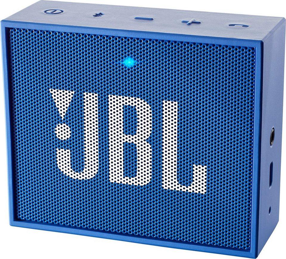 JBL GO Bluetooth-Lautsprecher in blau