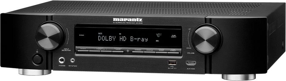 NR1506 5.1 AV-Receiver (3D, Spotify Connect, Airplay, WLAN, Bluetooth) in schwarz