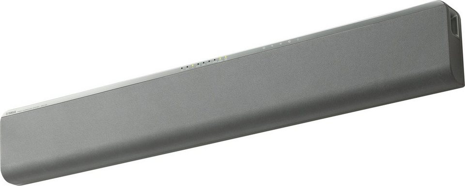 Yamaha YAS-105 Soundbar mit Bluetooth in silberfarben