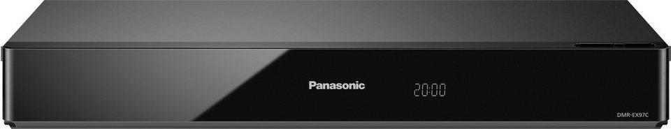 Panasonic DMR-EX97CEGK DVD Recorder, 3D-fähig, 1080p (Full HD), 500 GB in schwarz