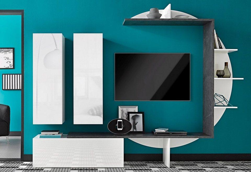 Schlafzimmer ideen braun garten ideen diy for Bilder wohnwand