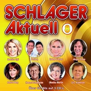 Audio CD »Various: Schlager Aktuell 8«