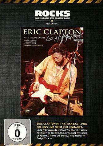 DVD »Eric Clapton & Friends - Live 1986«