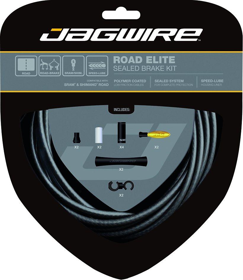 Jagwire Bremszubehör »Road Elite Bremszugset sealed kit«