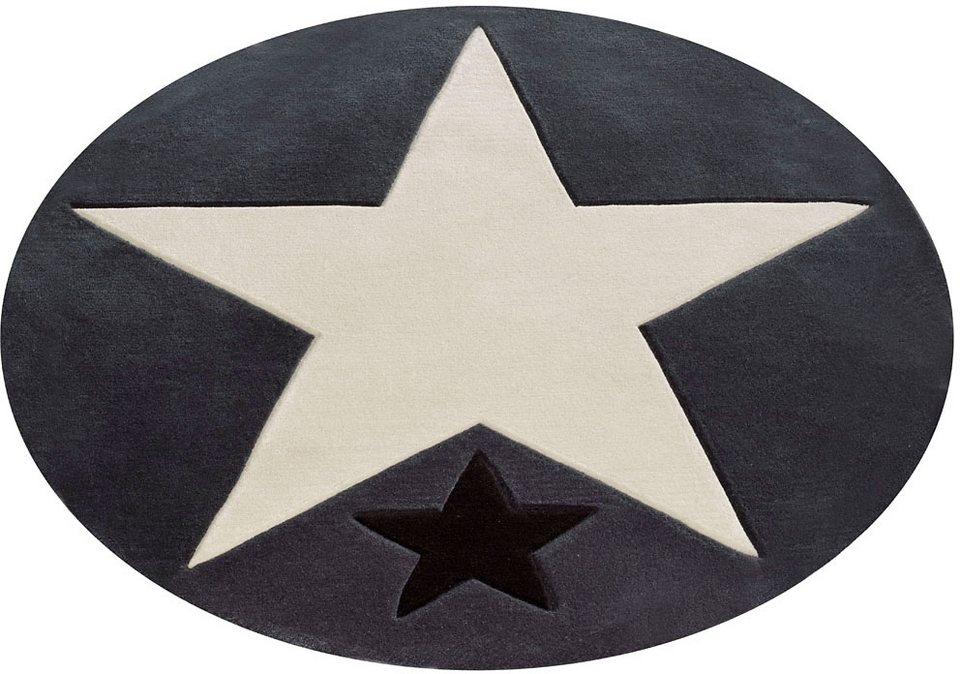 kinderteppich 707 rock star baby rund h he 10 mm rund online kaufen otto. Black Bedroom Furniture Sets. Home Design Ideas