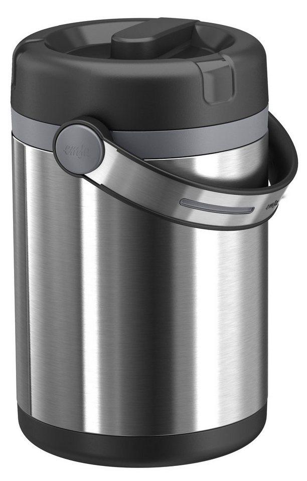 Isolier-Speisegefäß, Emsa, »MOBILITY«, 1,7 L in schwarz-anthrazit