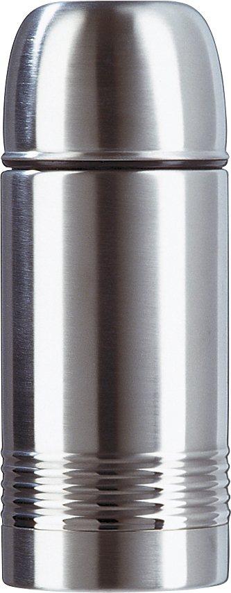 Isolierflasche, Emsa, »SENATOR«, 0,35 l, 0,5 l, 0,7 l, 1,0 l in silberfarben