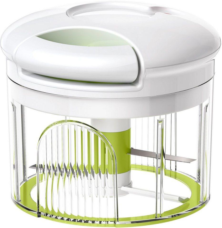 Kräuter-/Gemüseschneider, Emsa, »TURBOLINE« in transparent grün