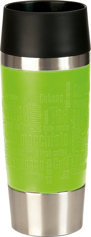 Isolierbecher, Emsa, »TRAVEL MUG«, 0,36 Liter in limette