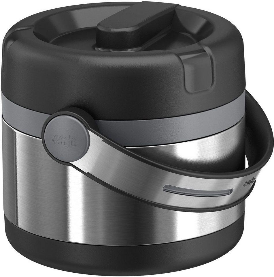 Isolier-Speisegefäß, Emsa, »MOBILITY«, 0,65 L und 1,2 L in schwarz-anthrazit