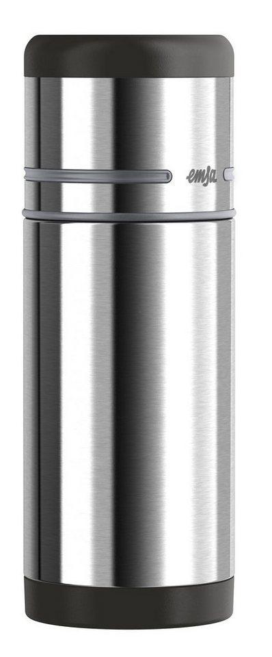 Isolierflasche, Emsa, »MOBILITY«, 0,35 l, 0,5 l, 0,75 l, 1,0 l in schwarz-anthrazit