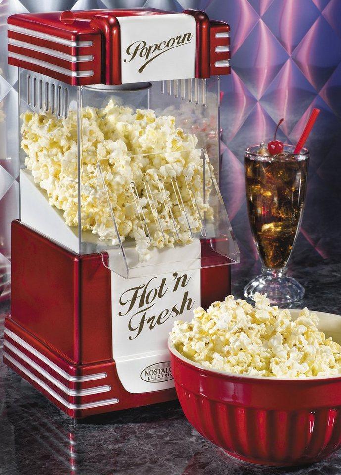 Nostalgia Electrics Popcorn Maker Hot Air SNP12 in rot