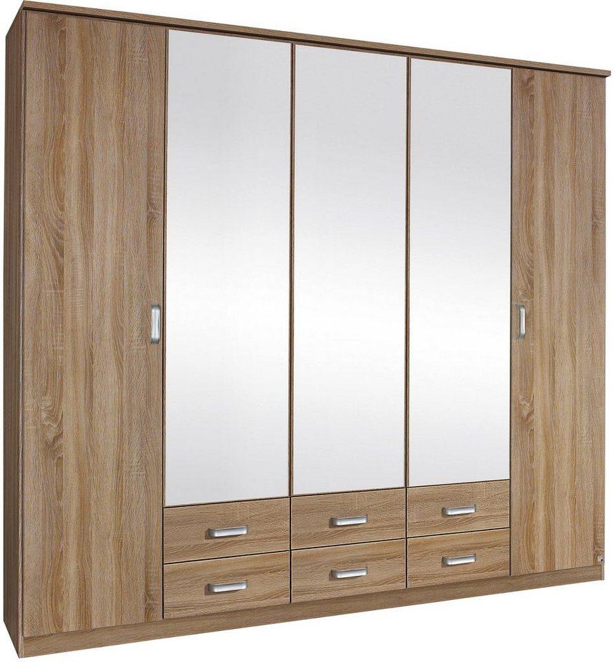 rauch schlafzimmer-set, mit kleiderschrank (4-tlg.) online kaufen