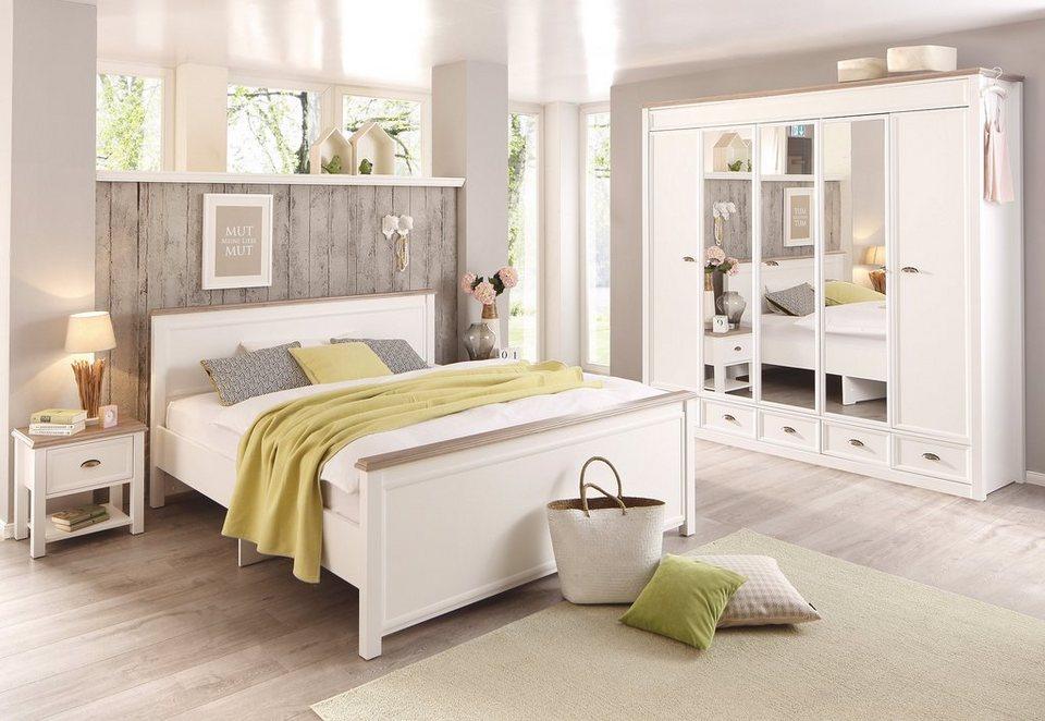 Home affaire, Schlafzimmer-Programm »Chateau« (4-tlg.), mit 5-türigem  Kleiderschrank online kaufen | OTTO