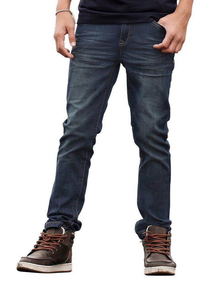 s.Oliver RED LABEL Junior Stretch-Jeans in SLIM-Passform für schlanke Jungen in dark-blue