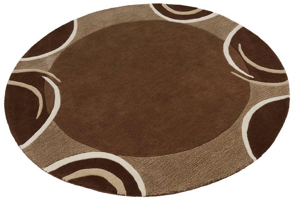 teppich bellary theko exklusiv rund h he 13 mm online. Black Bedroom Furniture Sets. Home Design Ideas