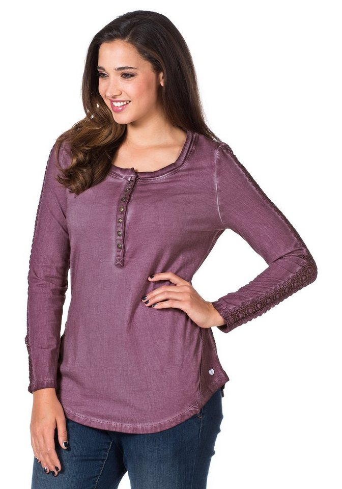 Joe Browns Langarmshirt in mauve