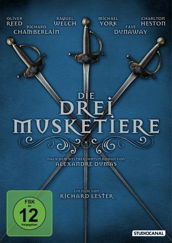 DVD »Die drei Musketiere«