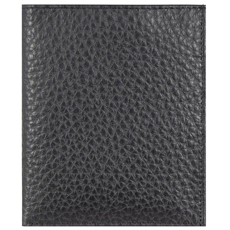 JOST Kopenhagen Geldbörse Leder 12 cm in schwarz