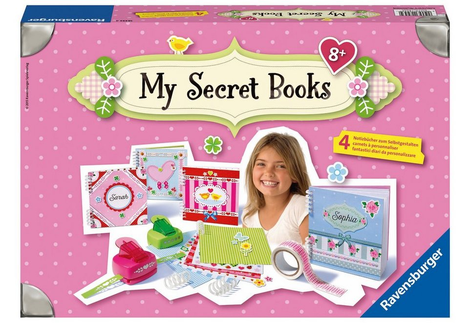Ravensburger Bastelset, »My secret Books«