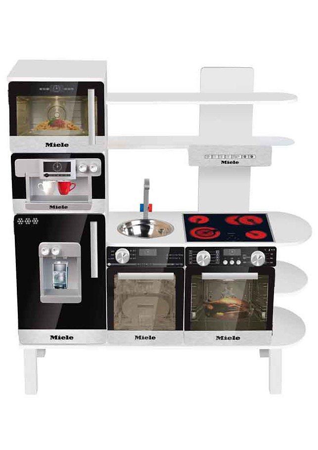 Klein Kinderspielküche, »MIELE Holzspielküche« | OTTO