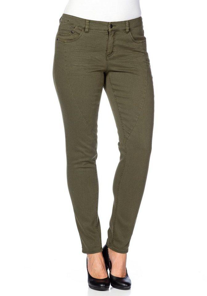 by s.Oliver Jeans in khaki denim