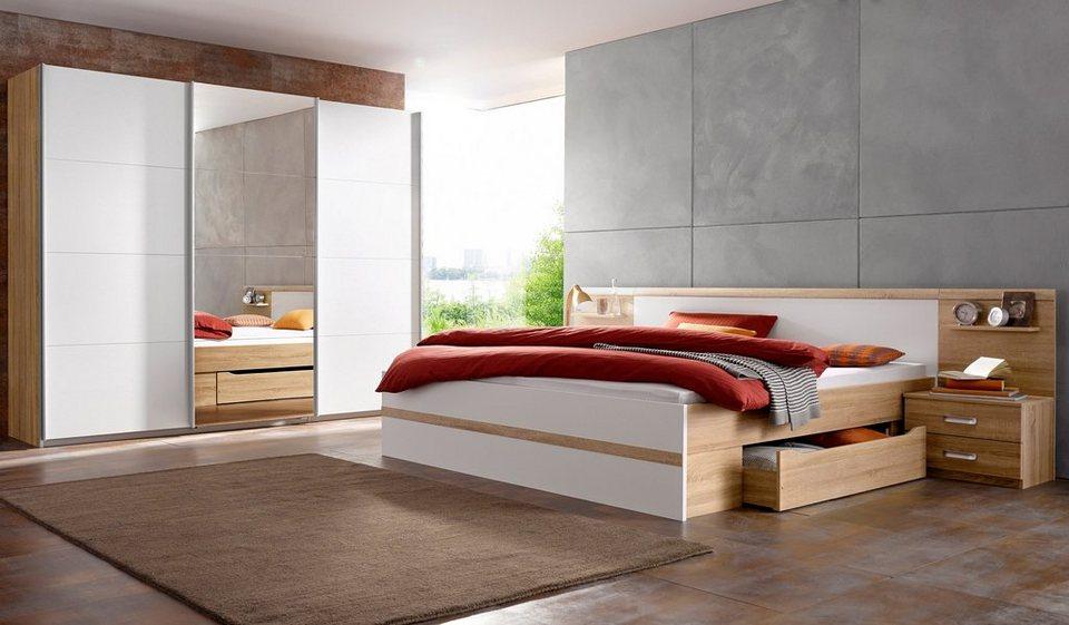 rauch pack s schlafzimmer set mit schwebet renschrank 4. Black Bedroom Furniture Sets. Home Design Ideas