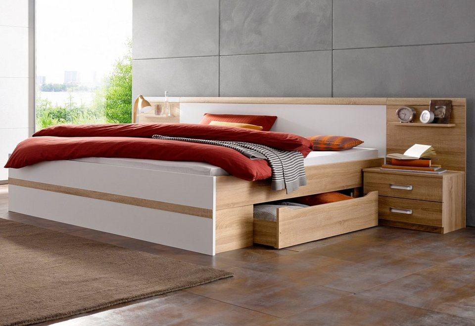 rauch bettanlage mit bettschubkasten kaufen otto. Black Bedroom Furniture Sets. Home Design Ideas
