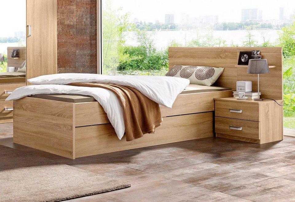 rauch pack s bettanlage mit bettkasten kaufen otto. Black Bedroom Furniture Sets. Home Design Ideas