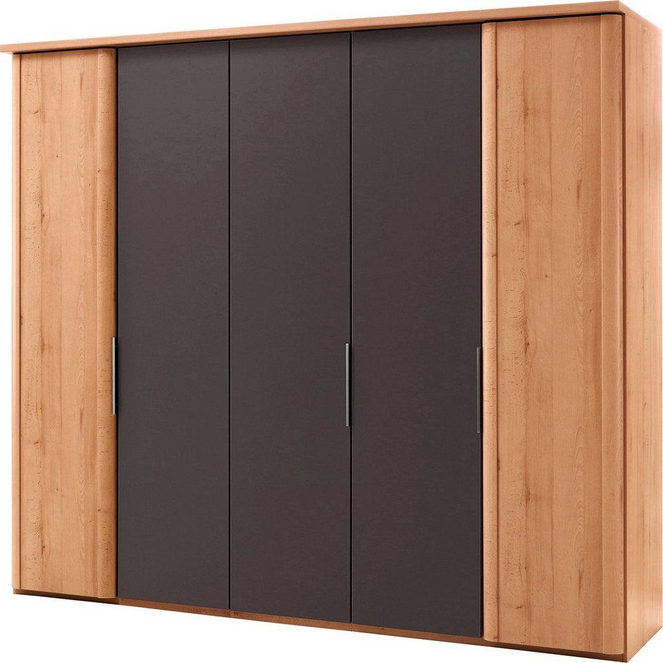WIEMANN Schlafzimmer-Set (5-tlg.) in buchefarben/havannafarben
