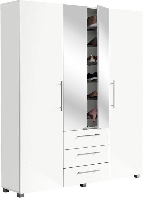 Flurschränke und Regale - Schildmeyer Garderobenschrank »Danu« mit Spiegeltüren  - Onlineshop OTTO