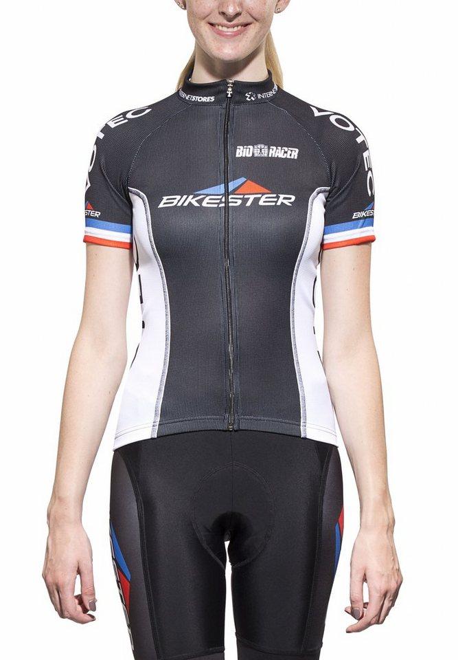 Bikester Radtrikot »Bioracer Pro Team Jersey Women« in schwarz