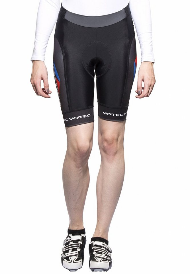 Bikester Radhose »Bioracer Pro Team Short Women« in schwarz
