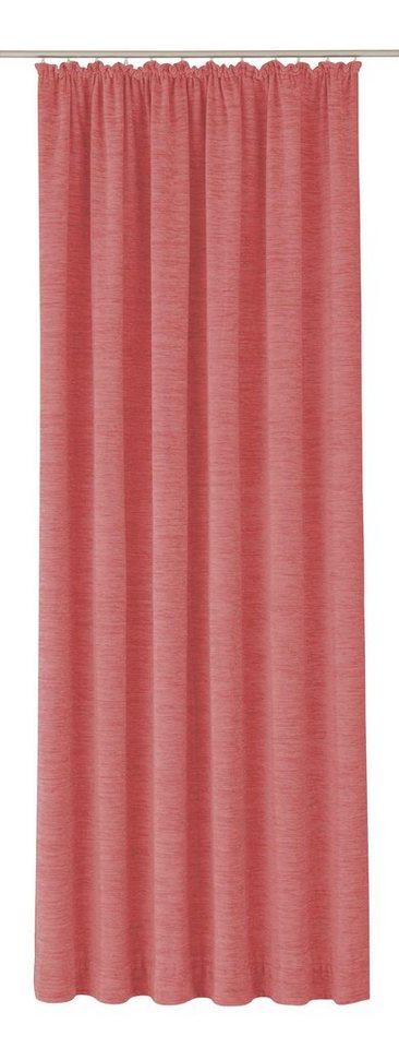 Vorhang, Wirth, »Trondheim 234 g/m²« (1 Stück) in rosa